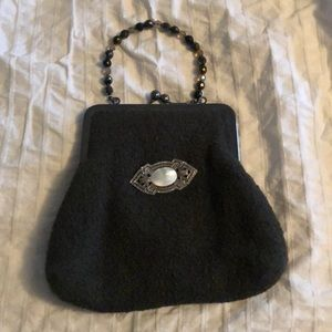 Evening bag with beaded handle!